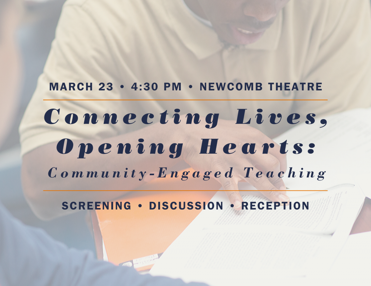 Connecting Lives, Opening Hearts: Community-Engaged Teaching
