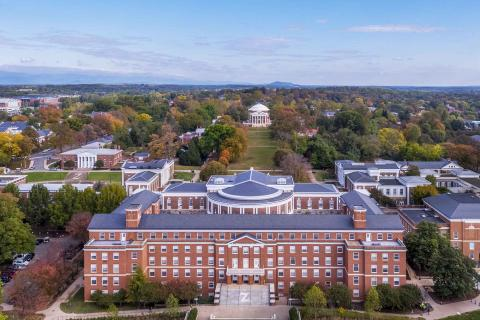 UVA Grounds from above